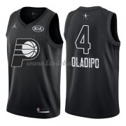 Maillot NBA Pas Cher Indiana Pacers Victor Oladipo 4# Black 2018 All Star Game Swingman..
